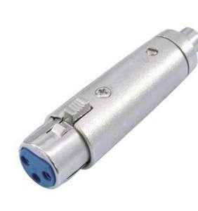 Omnitronic breytist. RCA-F / XLR-F