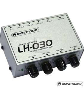 Omnitronic LH-030 4x heyrnartóla magnari