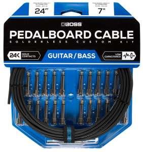 Boss BCK-24 Solderless Pedalb. Cable Kit