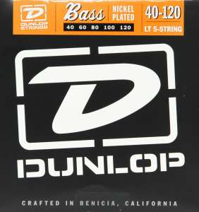 Dunlop Bassastrengir Nickel 40-120 5str.