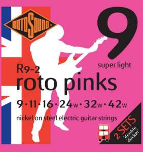 Rotosound Roto Pinks 9-42 Double Decker