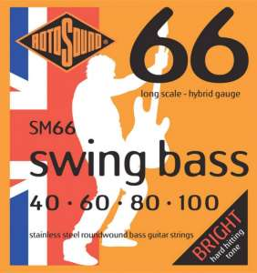 Rotosound Swing Bass 40-100