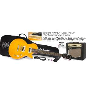 "Epiphone Slash ""AFD"" Performance Pack"