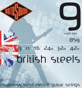 Rotosound British Steel 9-42