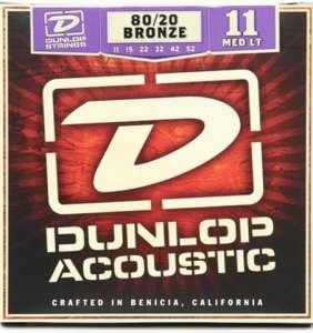 Dunlop Acoustic 80/20 Bronze 11-52