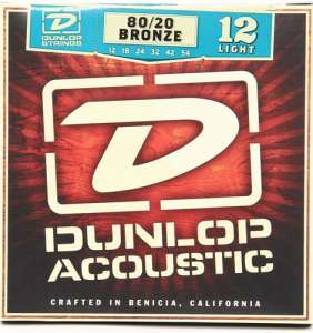 Dunlop Acoustic 80/20 Bronze 12-54