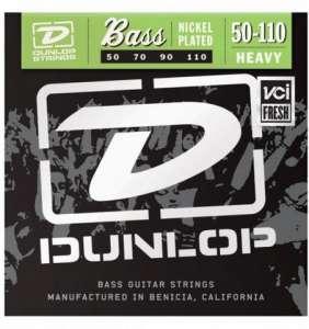 Dunlop Bassastrengir Nickel 50-110 4str