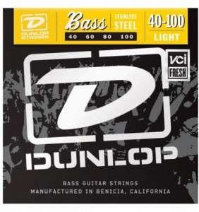 Dunlop Bassastrengir SS 40-100