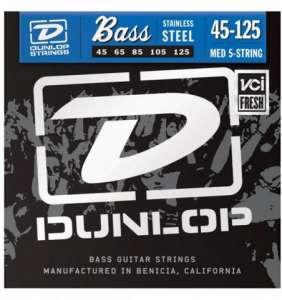 Dunlop Bassastrengir SS 45-125 5.str