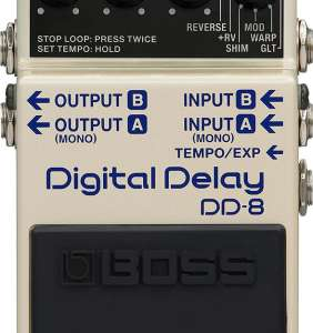 Boss DD8 Delay pedall
