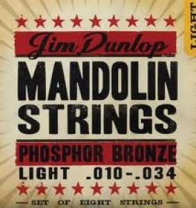 Dunlop Mandolin strengir -Phb Light