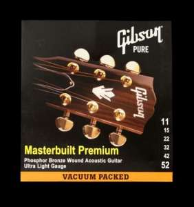 Gibson kassagítarstrengir 10-52