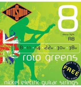 Rotosound Roto Greens 8-38