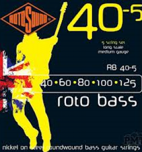 Rotosound Roto bass 5 strengja 40-125