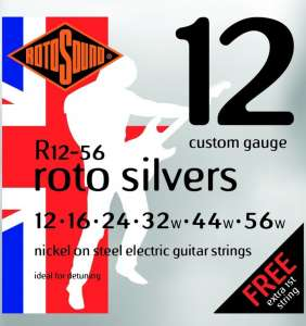 Rotosound Roto Silver 12-56