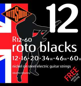 Rotosound Roto Black 12-60