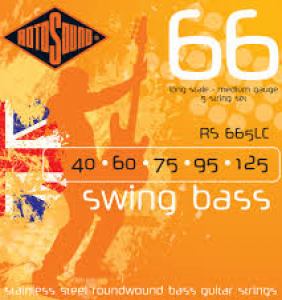 Rotosound Swing Bass 5 strengja 40-125