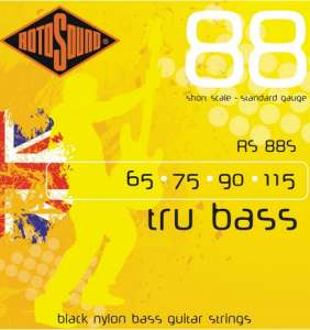 Tru Bass 65-115 Black Nyl. strengir
