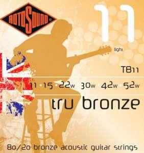 Rotosound Tru Bronze 11-52
