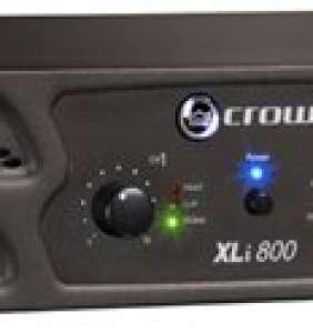 Crown XLi 800 kraftmagnari 2x300W 4 ohm